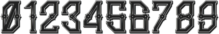 Gedung Sate Artdeco SHDWstylic otf (400) Font OTHER CHARS