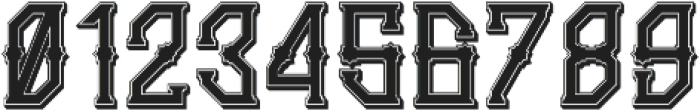 Gedung Sate Artdeco Shadowbasic otf (400) Font OTHER CHARS