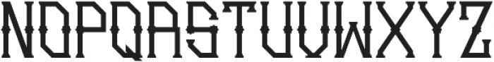 Gedung sate Artdeco otf (400) Font UPPERCASE