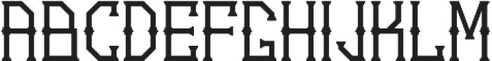 Gedung sate Artdeco otf (400) Font LOWERCASE