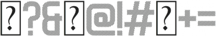 Geist Diagonal otf (400) Font OTHER CHARS