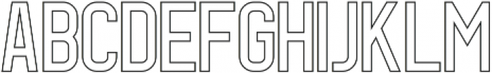 Geist Line otf (400) Font LOWERCASE