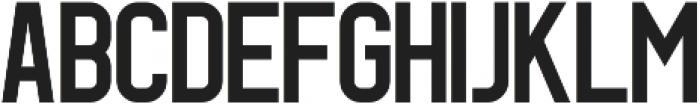 Geist Regular otf (400) Font UPPERCASE