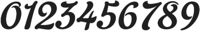Gelato Script otf (400) Font OTHER CHARS