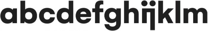 Gelion Bold otf (700) Font LOWERCASE