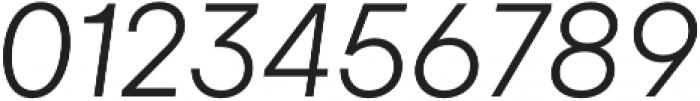 Gelion Light Italic otf (300) Font OTHER CHARS