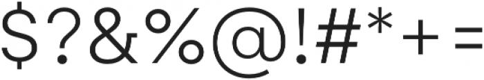 Gelion Light otf (300) Font OTHER CHARS
