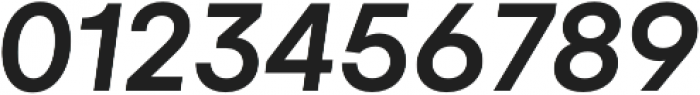 Gelion Medium Italic otf (500) Font OTHER CHARS