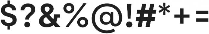 Gelion Medium otf (500) Font OTHER CHARS