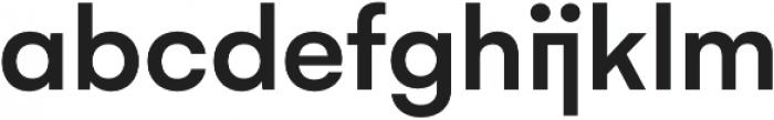 Gelion Medium otf (500) Font LOWERCASE