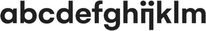 Gelion Semi Bold otf (600) Font LOWERCASE
