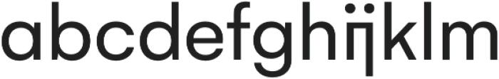 Gelion otf (400) Font LOWERCASE