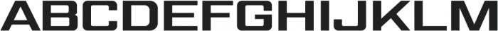 Gemini Cluster Black otf (900) Font UPPERCASE