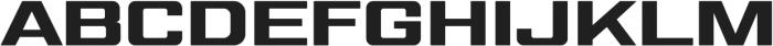Gemini Cluster Ultra Black otf (900) Font UPPERCASE