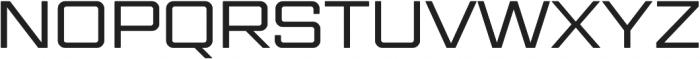 Gemini Cluster otf (400) Font UPPERCASE