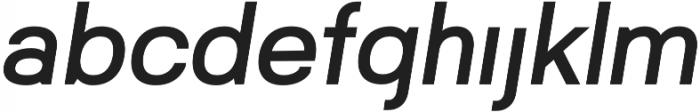 Gemini otf (400) Font LOWERCASE