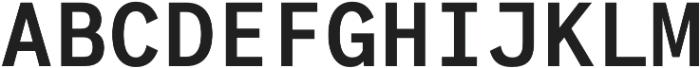 Generisch Mono SemiBold otf (600) Font UPPERCASE