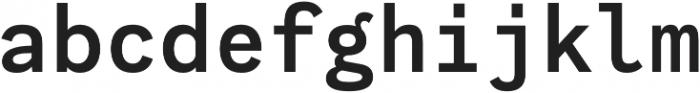 Generisch Mono SemiBold otf (600) Font LOWERCASE