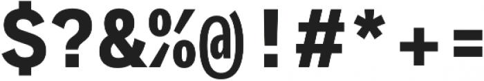 Generisch Mono otf (700) Font OTHER CHARS