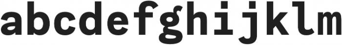 Generisch Mono otf (700) Font LOWERCASE