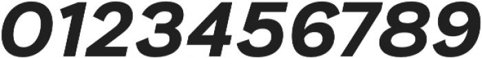 Generisch Sans Bold Slanted otf (700) Font OTHER CHARS