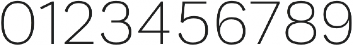 Generisch Sans Light otf (300) Font OTHER CHARS