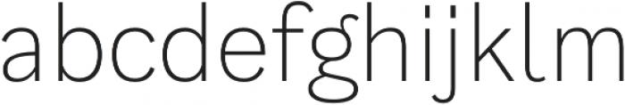 Generisch Sans Light otf (300) Font LOWERCASE