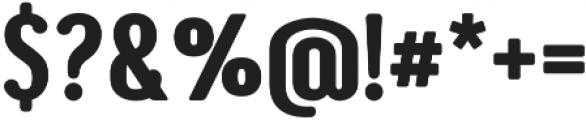 Genesa otf (700) Font OTHER CHARS