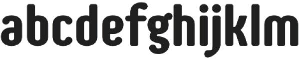 Genesa otf (700) Font LOWERCASE