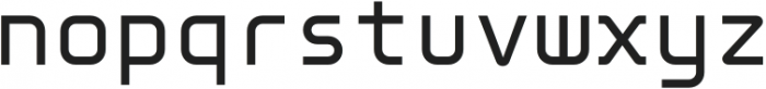 Genesis 03 Mono otf (400) Font LOWERCASE