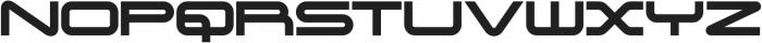 Genesis 03 Solid otf (400) Font UPPERCASE