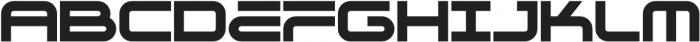 Genesis 03 Solid otf (400) Font LOWERCASE