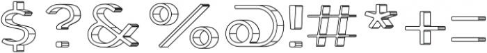 Genplan Pro Blueprint otf (400) Font OTHER CHARS