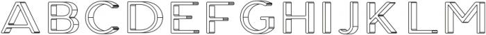 Genplan Pro Blueprint otf (400) Font UPPERCASE