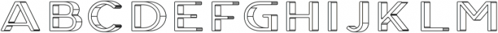 Genplan Pro Blueprint otf (400) Font LOWERCASE
