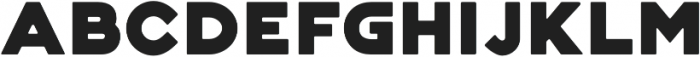 Genplan Pro Solid otf (400) Font LOWERCASE