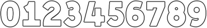 Genplan Pro Wireframe otf (400) Font OTHER CHARS