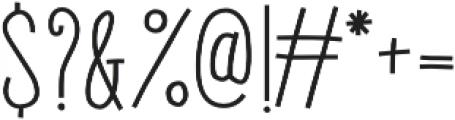 Gentil Bold otf (700) Font OTHER CHARS
