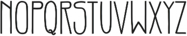 Gentil Bold otf (700) Font LOWERCASE