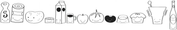 Gentil Doodles otf (400) Font LOWERCASE