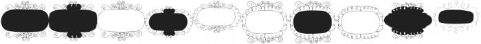 Gentil Frames Regular otf (400) Font OTHER CHARS