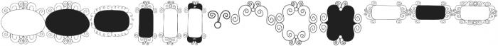 Gentil Frames Regular otf (400) Font LOWERCASE