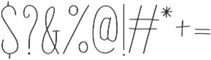 Gentil otf (400) Font OTHER CHARS