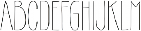 Gentil otf (400) Font LOWERCASE
