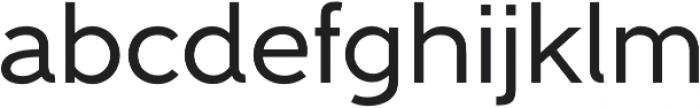 Gentleman 600 otf (600) Font LOWERCASE