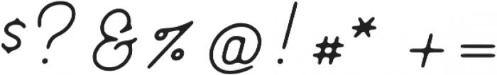 Genuine Script otf (400) Font OTHER CHARS