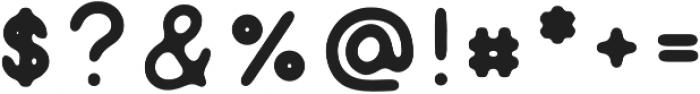 Genuine sans serif otf (400) Font OTHER CHARS