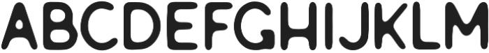 Genuine sans serif otf (400) Font LOWERCASE