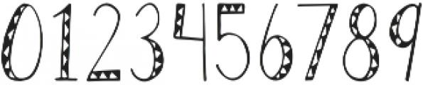 Geo Tribal Regular otf (400) Font OTHER CHARS