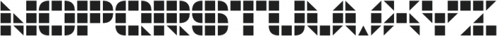 GeoGrid9 otf (400) Font UPPERCASE